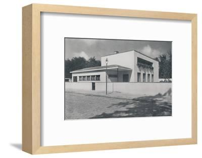 'House in Bucharest by Rudolf Frankel', 1942-Unknown-Framed Photographic Print