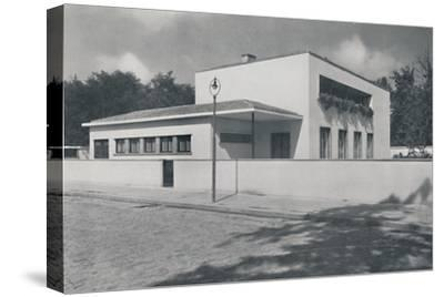 'House in Bucharest by Rudolf Frankel', 1942-Unknown-Stretched Canvas Print