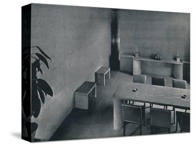 'Dining room of the architect Oliver Hill, F.R.I.B.A.', 1942-Unknown-Stretched Canvas Print