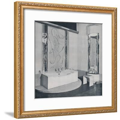'The Bath Room', 1940-Unknown-Framed Photographic Print