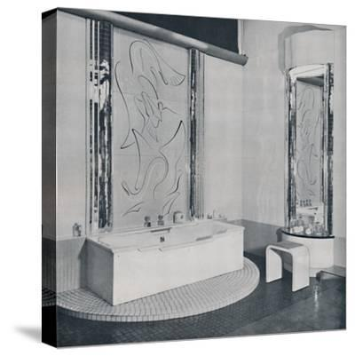 'The Bath Room', 1940-Unknown-Stretched Canvas Print