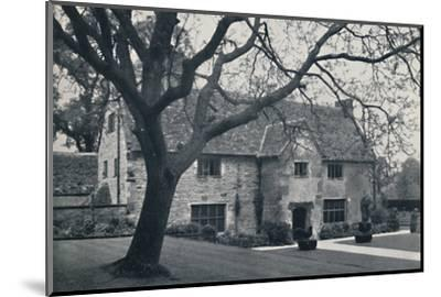 'Sulgrave Manor', 1940-Unknown-Mounted Photographic Print