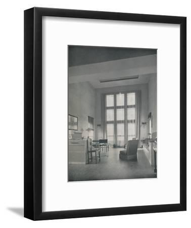 'Alexander B. Trowbridge - Interior of the summer cottage built for Mr. L. Corrin Strong', 1933-Unknown-Framed Photographic Print