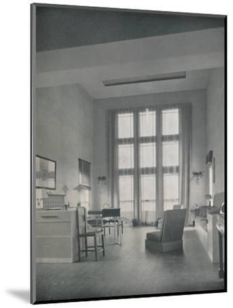 'Alexander B. Trowbridge - Interior of the summer cottage built for Mr. L. Corrin Strong', 1933-Unknown-Mounted Photographic Print