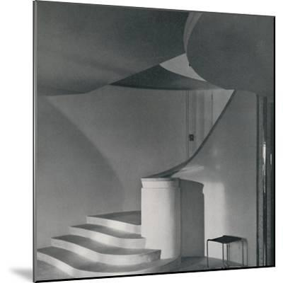 'Interior of the house at North Foreland', 1933-Unknown-Mounted Photographic Print