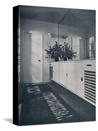 'Entrance lobby at Shrubs Wood, Chalfont St. Giles', 1936-Unknown-Stretched Canvas Print