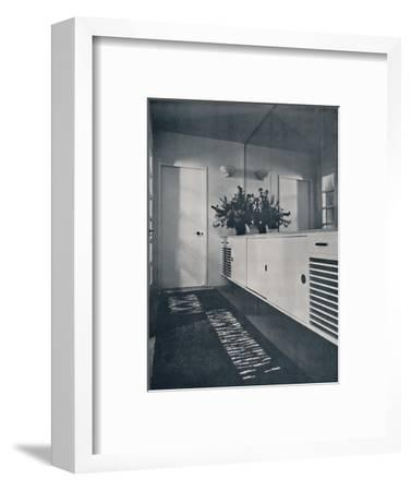 'Entrance lobby at Shrubs Wood, Chalfont St. Giles', 1936-Unknown-Framed Photographic Print
