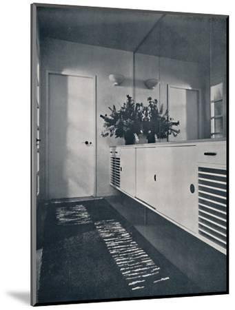 'Entrance lobby at Shrubs Wood, Chalfont St. Giles', 1936-Unknown-Mounted Photographic Print