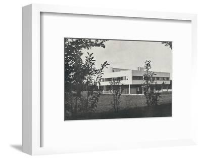 'Villa at Poissy, constructed in reinforced concrete', 1933-Unknown-Framed Photographic Print