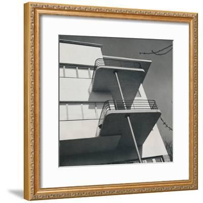 House for two families in Budapest, Romania, 1933-Unknown-Framed Photographic Print