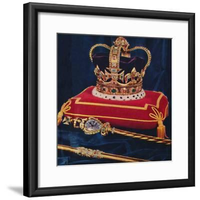 The Crown Jewels, 1953-Unknown-Framed Giclee Print