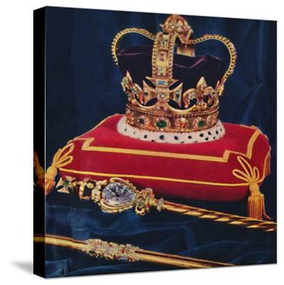 The Crown Jewels, 1953-Unknown-Stretched Canvas Print