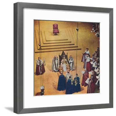 God crown you with a crown of glory and righteousness., 1953-Unknown-Framed Giclee Print