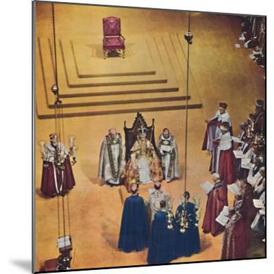 God crown you with a crown of glory and righteousness., 1953-Unknown-Mounted Giclee Print