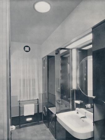 'Bathroom for a man', 1936-Unknown-Framed Photographic Print
