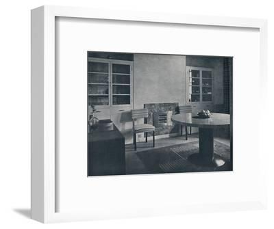 'Dining-room for a house in Highgate Village, London', 1936-Unknown-Framed Photographic Print