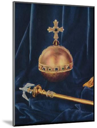 The Crown Jewels, 1953-Unknown-Mounted Giclee Print