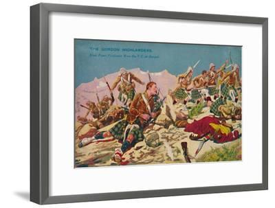 'The Gordon Highlanders. How Piper Findlater won the V.C. at Dargai', 1897, (1939)-Unknown-Framed Giclee Print