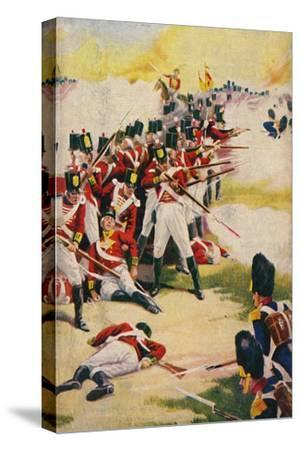 'The Gloucestershire Regiment. Back-to-Back at Alexandria', 1801, (1939)-Unknown-Stretched Canvas Print