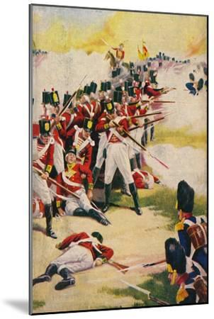 'The Gloucestershire Regiment. Back-to-Back at Alexandria', 1801, (1939)-Unknown-Mounted Giclee Print