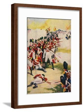 'The Gloucestershire Regiment. Back-to-Back at Alexandria', 1801, (1939)-Unknown-Framed Giclee Print