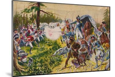 'The Duke of Cornwall's Light Infantry...at Brandywine', 1777, (1939)-Unknown-Mounted Giclee Print