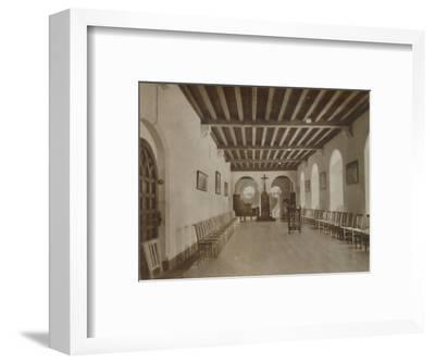 'Chapter Room, Buckfast Abbey', late 19th-early 20th century-Unknown-Framed Photographic Print