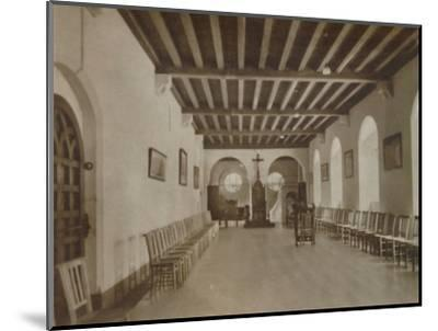 'Chapter Room, Buckfast Abbey', late 19th-early 20th century-Unknown-Mounted Photographic Print
