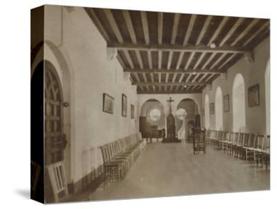 'Chapter Room, Buckfast Abbey', late 19th-early 20th century-Unknown-Stretched Canvas Print
