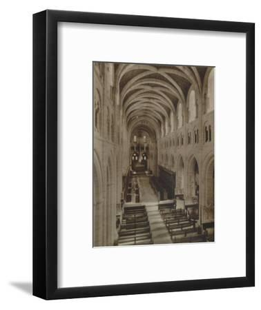 'Buckfast Abbey Church (Interior)', late 19th-early 20th century-Unknown-Framed Photographic Print