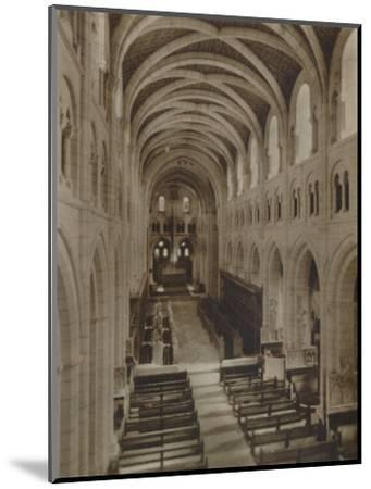'Buckfast Abbey Church (Interior)', late 19th-early 20th century-Unknown-Mounted Photographic Print