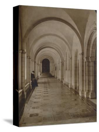 'East Cloister, Buckfast Abbey', late 19th-early 20th century-Unknown-Stretched Canvas Print