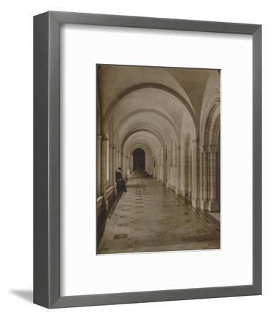 'East Cloister, Buckfast Abbey', late 19th-early 20th century-Unknown-Framed Photographic Print