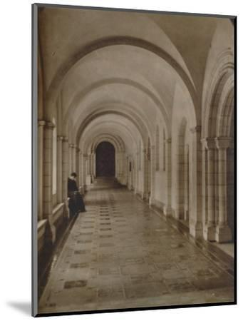 'East Cloister, Buckfast Abbey', late 19th-early 20th century-Unknown-Mounted Photographic Print