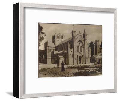 'Buckfast Abbey Church,' (N.W)', late 19th-early 20th century-Unknown-Framed Photographic Print