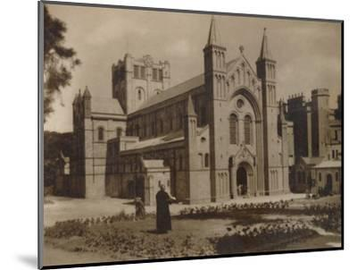 'Buckfast Abbey Church,' (N.W)', late 19th-early 20th century-Unknown-Mounted Photographic Print