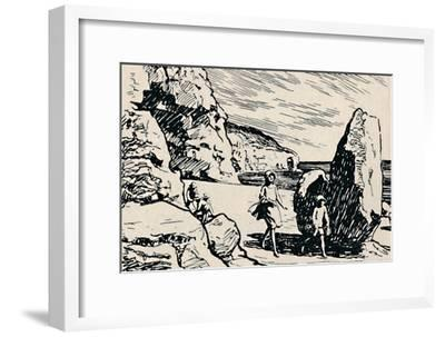 'At Tilly Whim', 1929-Unknown-Framed Giclee Print