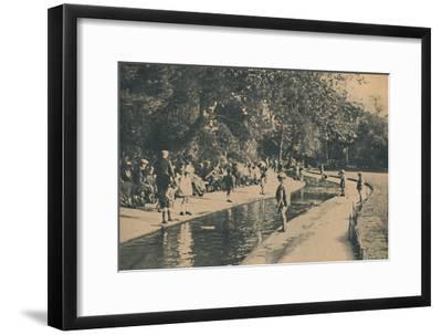 'The Children's Corner, Central Pleasure Gardens', 1929-Unknown-Framed Giclee Print