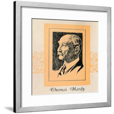 'Thomas Hardy', (1929)-Unknown-Framed Giclee Print