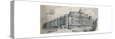 'Bournemouth's Premier Guest House - Tollard Royal Hotel', 1929-Unknown-Stretched Canvas Print