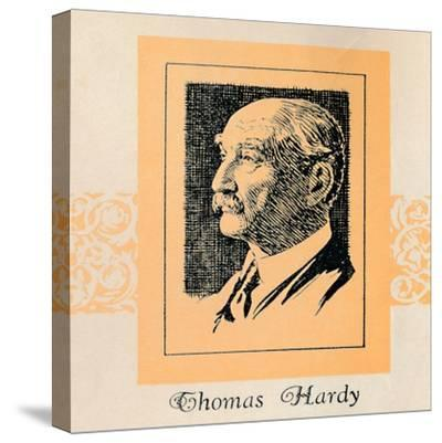 'Thomas Hardy', (1929)-Unknown-Stretched Canvas Print