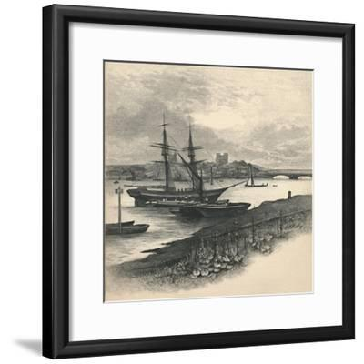 'Rochester, from Strood', 1886-Unknown-Framed Giclee Print
