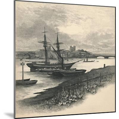 'Rochester, from Strood', 1886-Unknown-Mounted Giclee Print