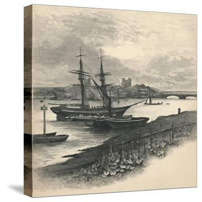 'Rochester, from Strood', 1886-Unknown-Stretched Canvas Print
