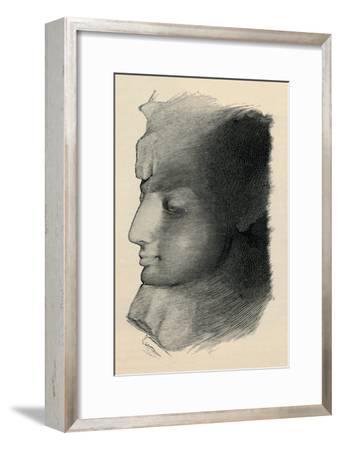 'Queen Nefertari', 1886-Unknown-Framed Giclee Print