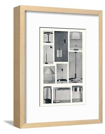 'Lighting', 1938-Unknown-Framed Photographic Print