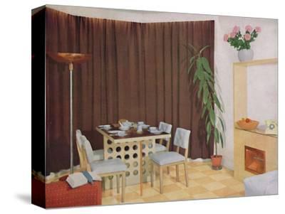 'Small Living-Dining Room', 1938-Unknown-Stretched Canvas Print