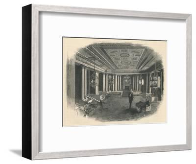 'Buckingham Palace: The Marble Hall', 1886-Unknown-Framed Giclee Print