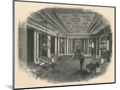 'Buckingham Palace: The Marble Hall', 1886-Unknown-Mounted Giclee Print