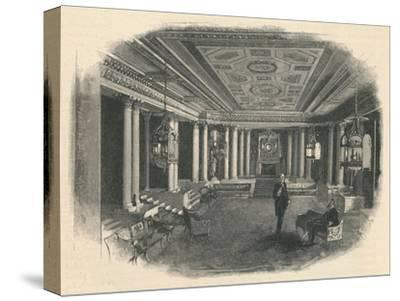 'Buckingham Palace: The Marble Hall', 1886-Unknown-Stretched Canvas Print
